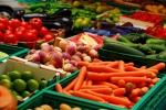 Mix orange and dark green vegetables