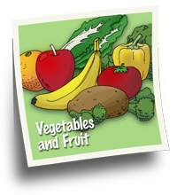 'Vegetables & Fruit' is the most important food group